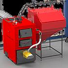 Котел промышленный на твердом топливе 150 кВт РЕТРА-4МCombi, с факельной горелкой, фото 4