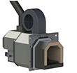 Котел промышленный на твердом топливе 150 кВт РЕТРА-4МCombi, с факельной горелкой, фото 8