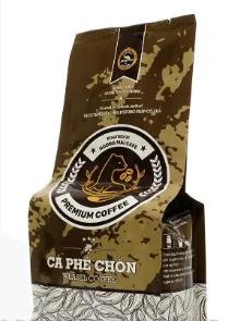 В'єтнамський натуральну Каву в зернах Premium Kopi luwak Weasel Coffee Huong Mai Cafe зерновий 250g (В'єтнам), фото 2