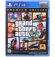 Игра Grand Theft Auto V (GTA 5): Premium Online Edition (PS4, Русские субтитры)