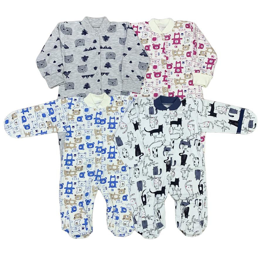 Человечки для новорожденных (интерлок)