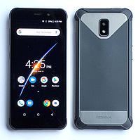 Смартфон черный защищенный, противоударный с большим дисплеем на 2 сим кары Konka RE1 black 2/16GB