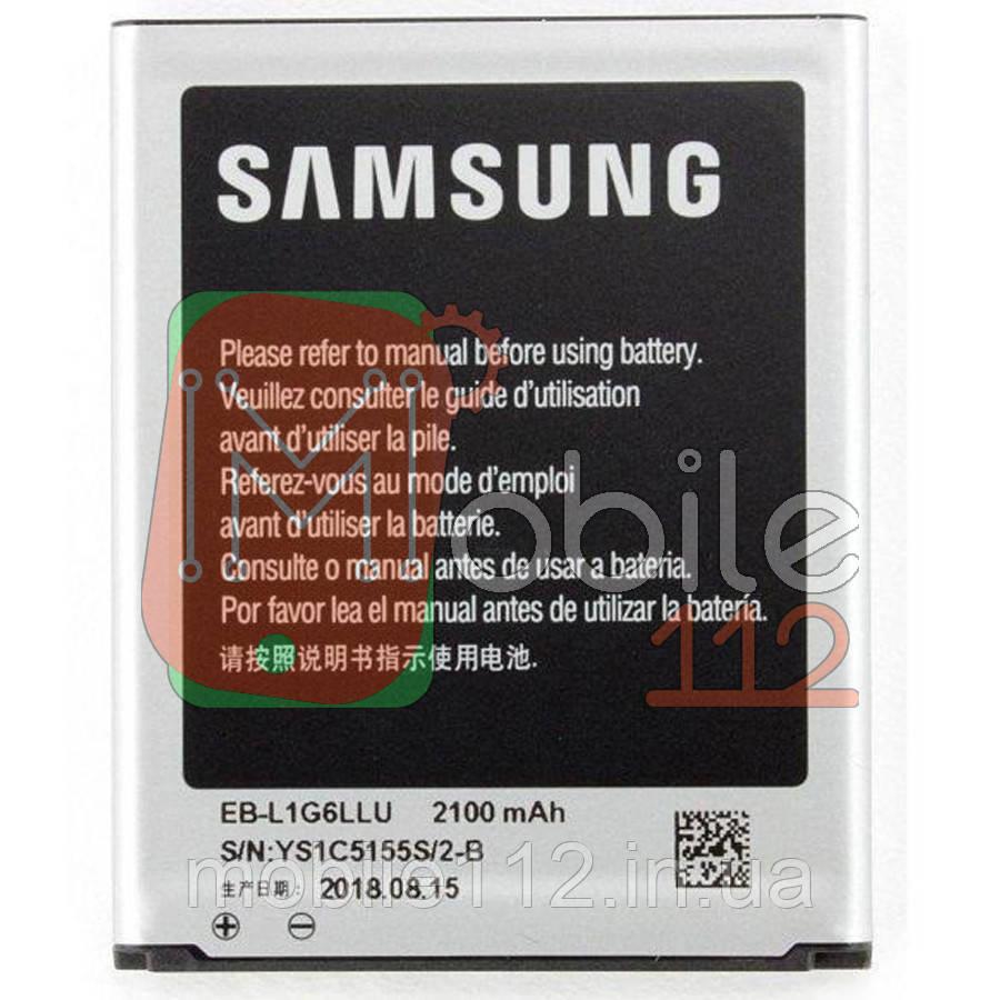 Аккумулятор (АКБ батарея) Samsung EB-L1G6LLU EB-L1G6LLA совм EB535163LU оригинал Китай Galaxy Grand Duos I9082 Galaxy Grand Duos i9080 Galaxy S III I9