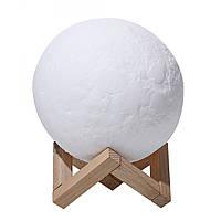 Настольный светильник Magic 3D Moon Light Луна 13 см (6727) #S/O, фото 1
