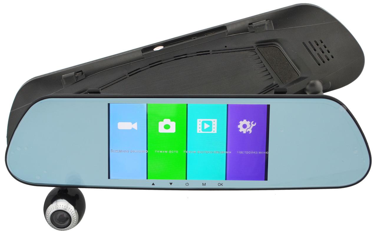 Видеорегистратор зеркало DVR V9TP 3 камеры (13933) #S/O