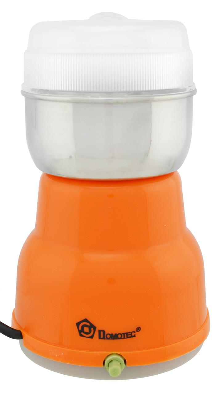 Кофемолка Domotec MS-1406 Orange (3533) #S/O
