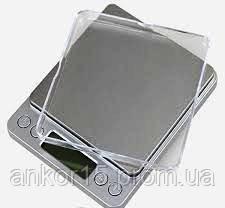 Ювелірні електронні ваги з 2-ма чашами на 3000g/0.1