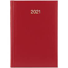 Ежедневник датированный 2021 BRUNNEN Стандарт Miradur, красный