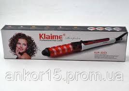 Плойка спиральная для волос KLAIME KLM-2223