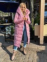 Пальто, Ткань:  Плащёвка, р-р 50-52, 54-56, цвет ( Марсала, Чёрный, Тёмно-синий, Хаки, Розовый )