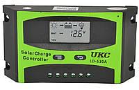 Контроллер для солнечной батареи UKC LD-530A 30A (2817) #S/O, фото 1