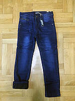 Джинсовые брюки на флисе для мальчиков Grace 134-  р.р., фото 1