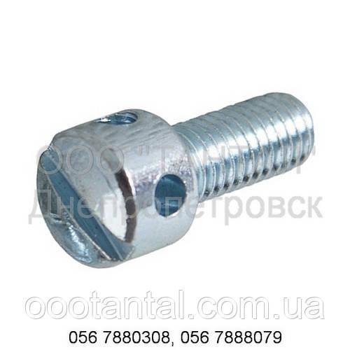 Гвинт контровочный (пломбувальний) з отвором у циліндричній головці сталевий від М3 до М6 DIN 404