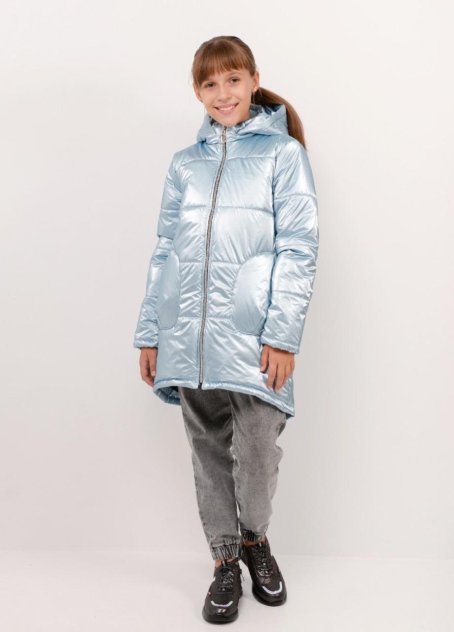 Куртка для девочки осень/весна голубая