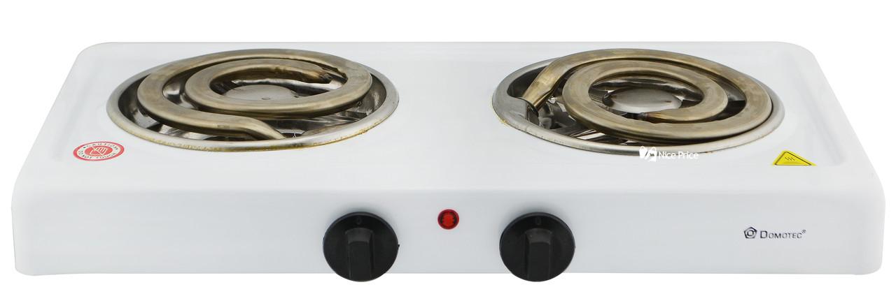 Настольная электроплита Domotec MS-5532 White (большая спираль) (4790) #S/O
