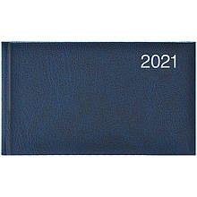 Еженедельник датированный карманный BRUNNEN 2021 Miradur, синий