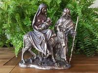 Коллекционная статуэтка Veronese Семья Иисуса идет в Египет WU74108A4