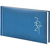Еженедельник датированный карманный BRUNNEN 2021 Tirol, голубой, фото 2