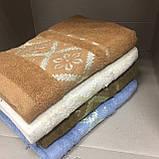 Полотенце махровое банное 130х65 см, фото 3