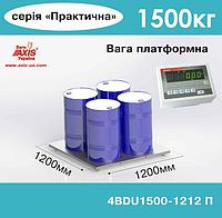 Весы платформенные складские 4BDU1500-1515-П