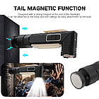 Налобный фонарь BORUIT XPG+COB  EBF0003 USB 800mAh Магнит, фото 7