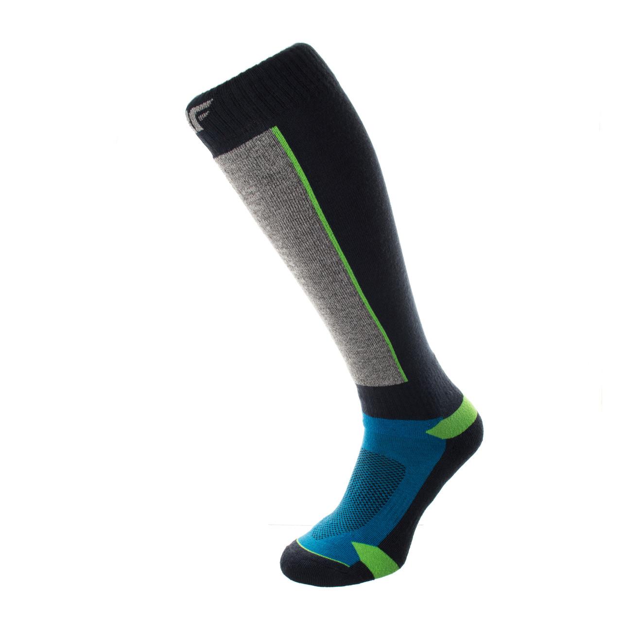 Шкарпетки лижні 4F Warm 43-46 grey-navy