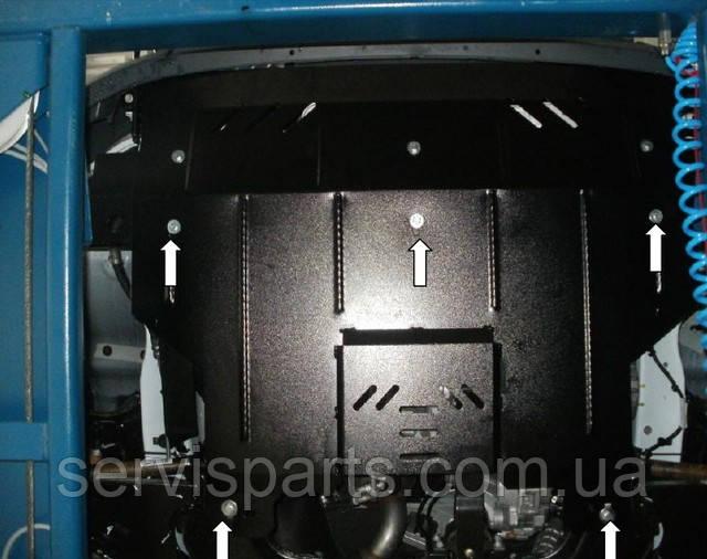 Захист двигуна Ford Transit 2006-2013 (Форд Транзит)