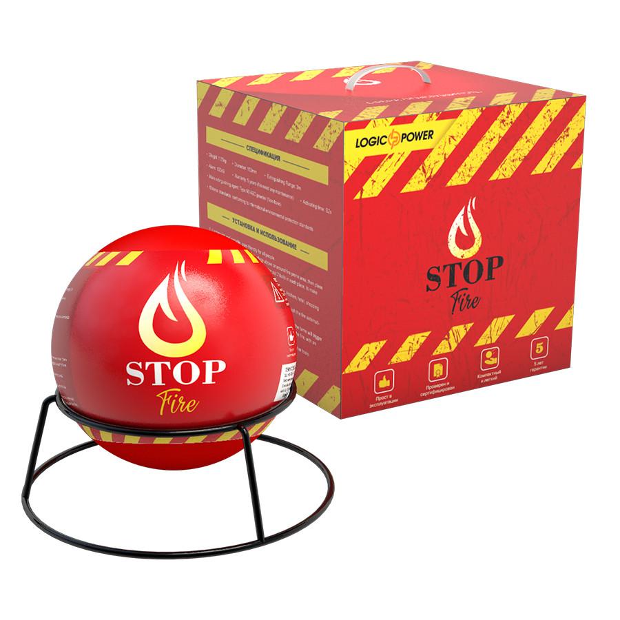 Автономная сфера порошкового пожаротушения LogicPower Fire Stop S3.0M (5748) #S/O