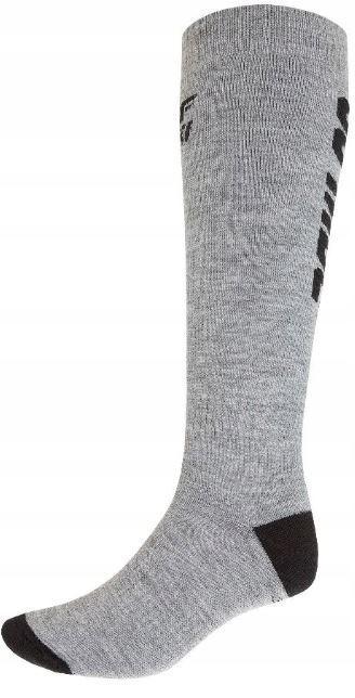 Шкарпетки лижні 4F Warm 43-46 grey