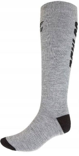 Шкарпетки лижні 4F Warm 43-46 grey, фото 2