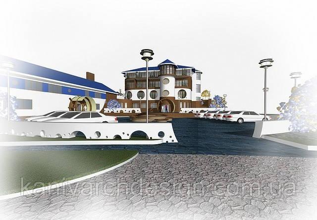 Дизайн-проект готельного комплексу «МАЯК» V2, фото 1