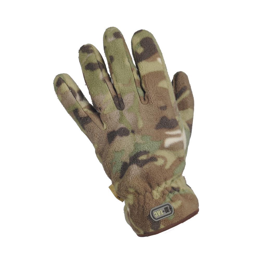 M-Tac перчатки зимние Winter Windblock 295 MC тактические мультикам