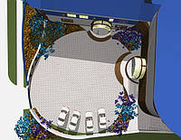 Дизайн-проект готельного комплексу «МАЯК» V1, фото 1