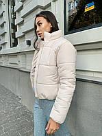 Зимняя женская дутая куртка