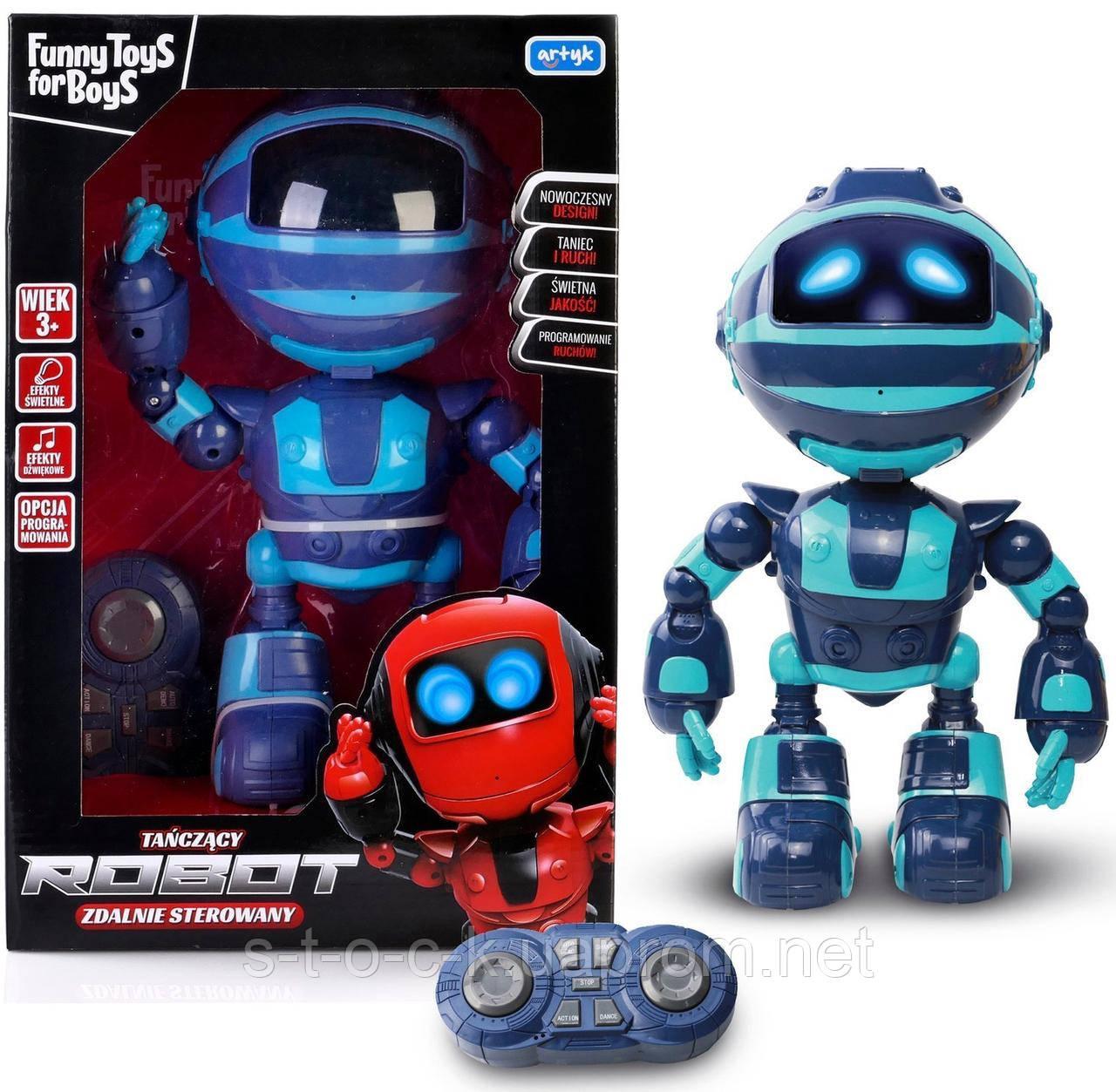 ARTYK FUNNY TOYS FOR BOYS -Танцующий робот!Дистанционно управляемый
