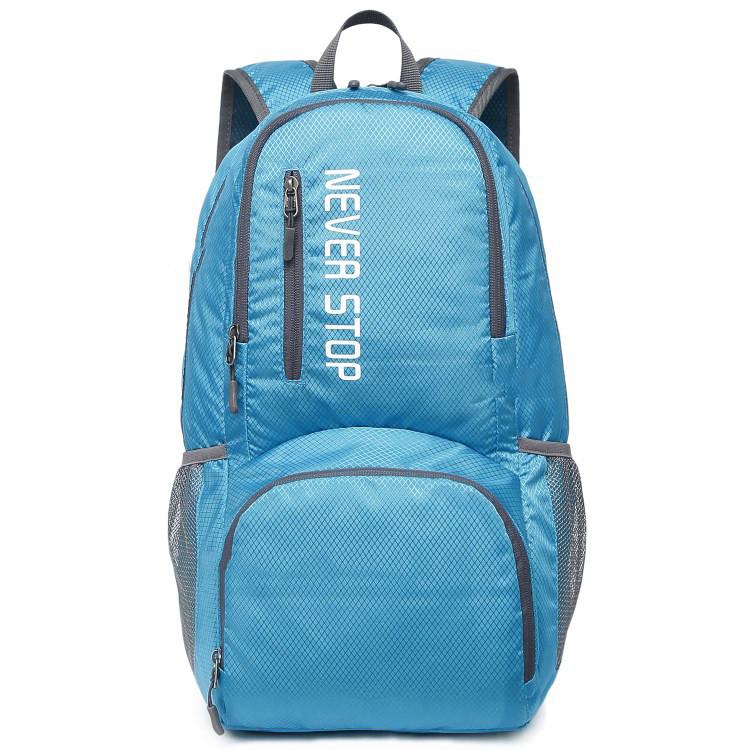 Дропшиппинг. Туристический рюкзак голубой Keloe B10 Складной Водонепроницаемый.