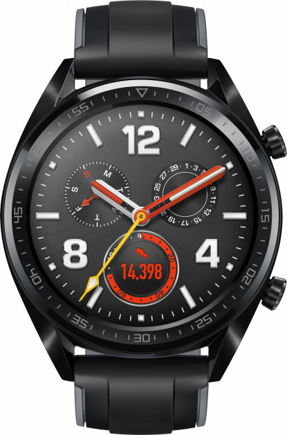 Смарт часы Huawei Watch GT (FTN-B19) Black (6436839)