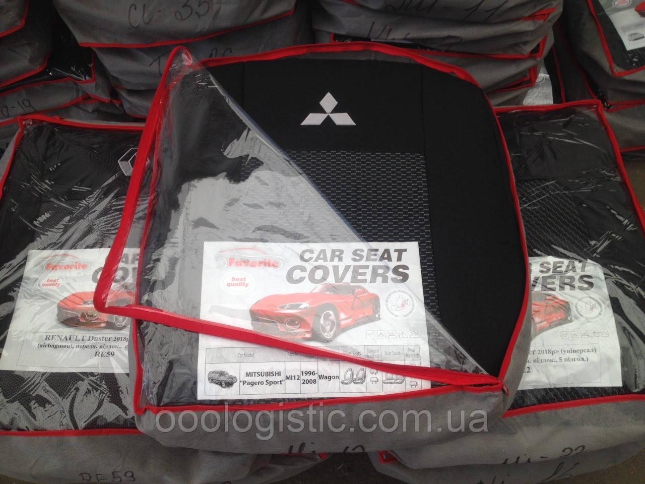 Авточохли на Mitsubishi Pagero Sport wagon 1996-2008