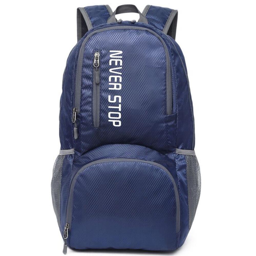 Дропшиппинг. Туристический рюкзак синий Keloe B10  Складной Водонепроницаемый