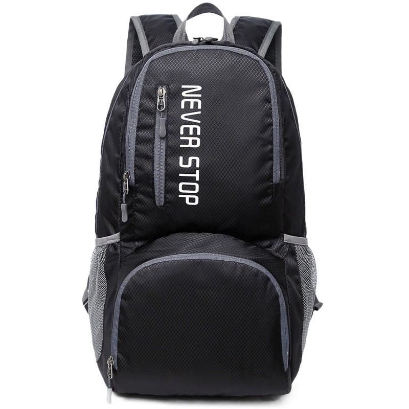 Дропшипинг. Туристический рюкзак черный Keloe B10 Складной Водонепроницаемый