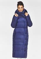Воздуховик Braggart Angel's Fluff 41830| Женская теплая куртка цвета синий бархат