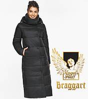 Воздуховик Braggart Angel's Fluff 41830| Женская теплая куртка черная