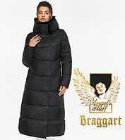 Воздуховик Braggart Angel's Fluff 45085| Теплая зимняя куртка черная