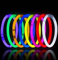 Светящиеся браслеты 100 шт