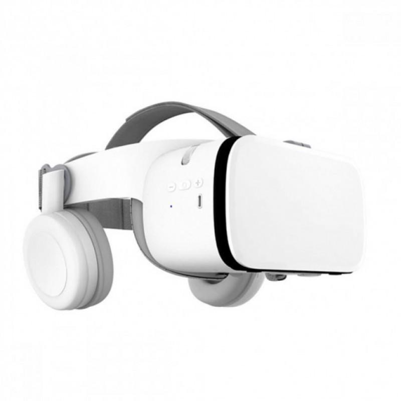 Цена актуальна только партнерам! Очки виртуальной реальности белые Bobo 3D VR Z6 С ПУЛЬТОМ ДУ Bluetooth 110°