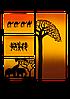 """Керамический дизайн-обогреватель UDEN-S """"Африка"""" (квадриптих)"""