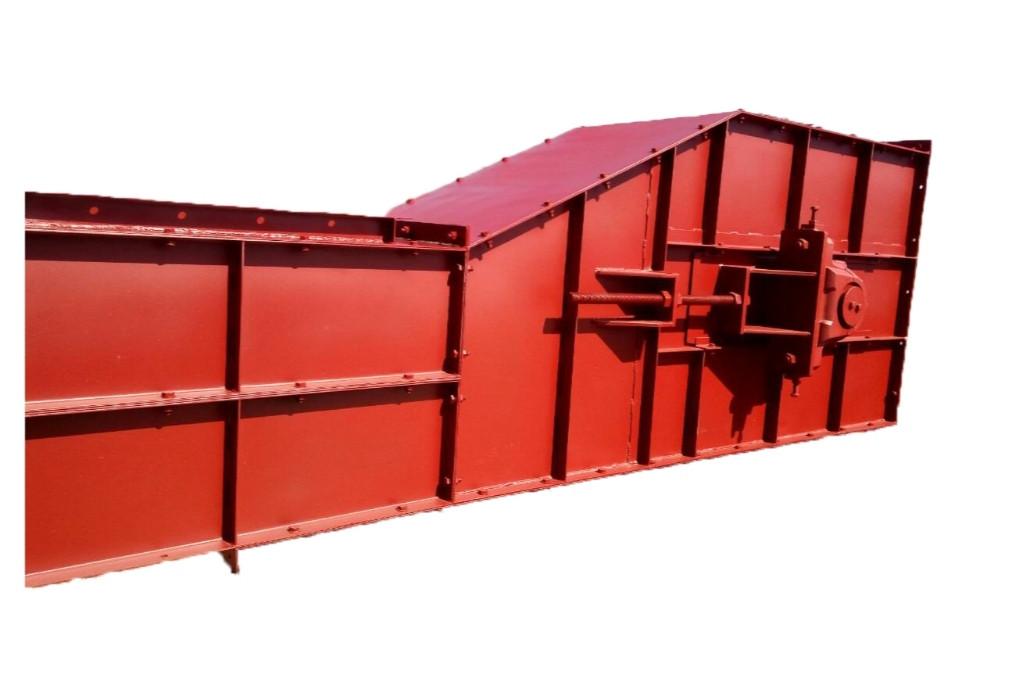 Конвейер цепной скребковый горизонтально - вертикальный (гусиная шея)