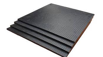 Модульное покрытие для спортивного зала 50х50х3.0 см