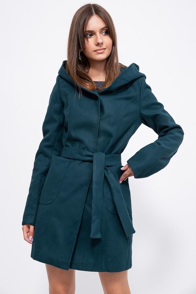 Пальто женское 153R963 цвет Зеленый