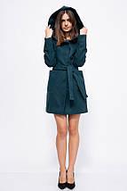 Пальто женское 153R963 цвет Зеленый, фото 3